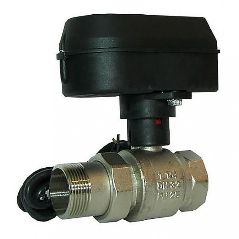 Шаровой кран Honeywell с электрическим приводом, SPDT, 220В, Ду25