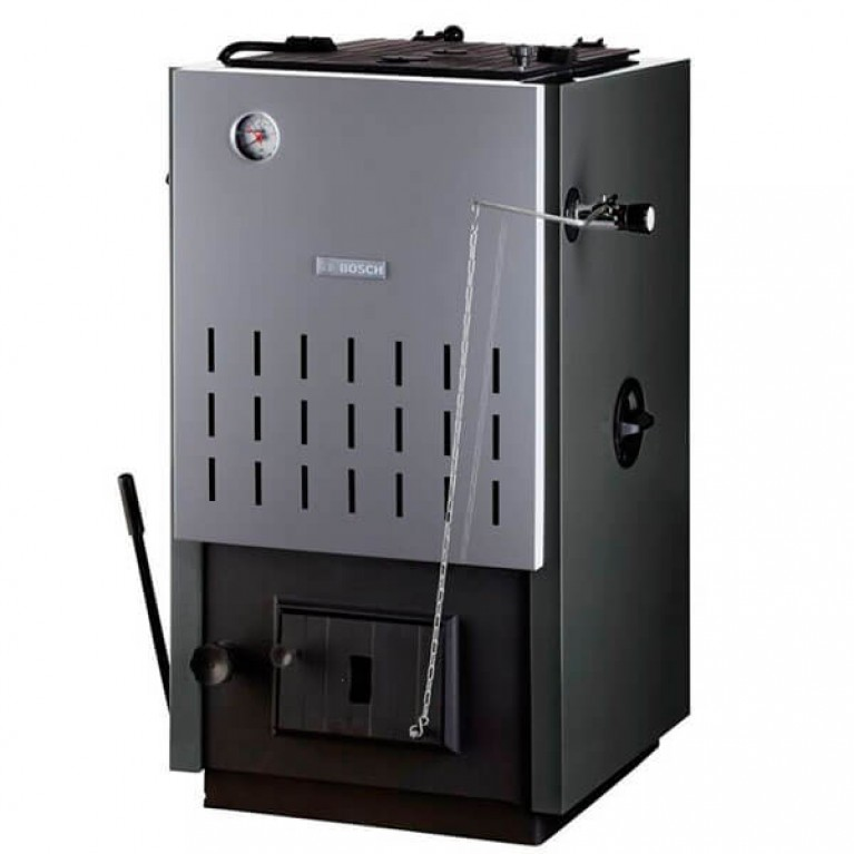 Купить Твердотопливный котел Bosch Solid 2000 B SFU 27 HNS у официального дилера BOSCH в Украине