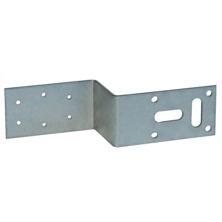 Монтажная пластина для настенного уголка Z-образная TECEflex 152/70