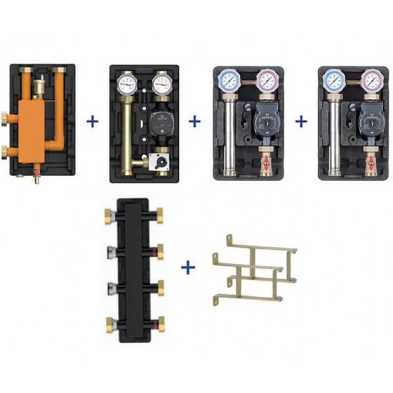 Пакетное предложение Meibes Action-4 – UK/UK/MK (без насосов + коллектор + стрелка + консоли)