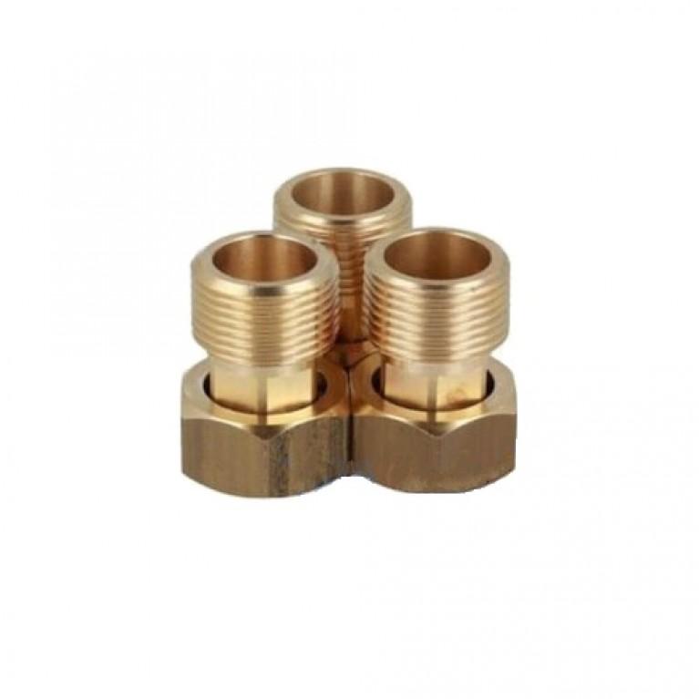 Комплект резьбовых соединений к клапанам ESBE VTA, VTS и AFRISO ATM внутр. 1 х внеш. 1
