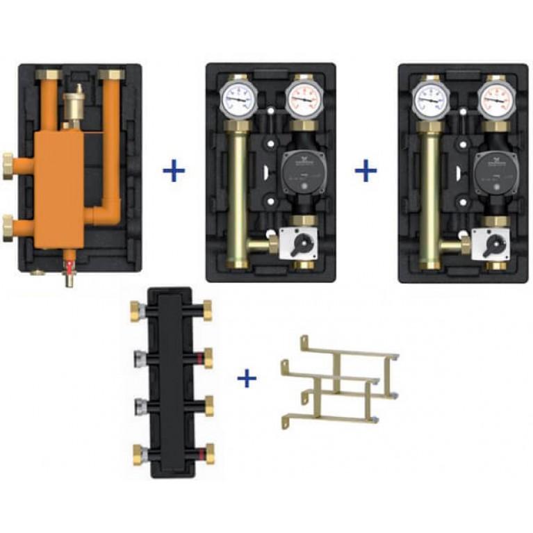 Пакетное предложение Meibes Action-3 – MK/MK (без насосов + коллектор + стрелка + консоли)