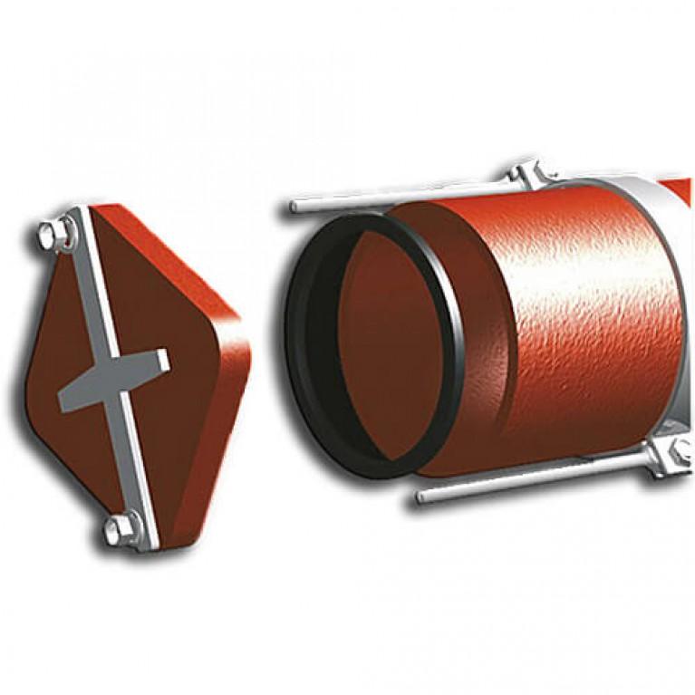 Купить Герметическая заглушка со скобами DUKER SML 150 мм у официального дилера Duker в Украине