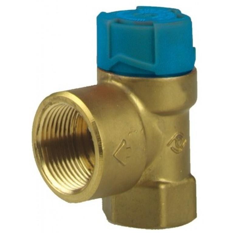 Клапан предохранительный PN16 Tmax 95С  10.0 бар Для водонагревателей  до 200 л SM150-1/2C
