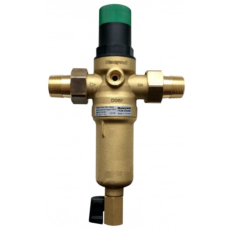 Фильтр с редуктором Honeywell FK06-3/4AAM на горячую воду