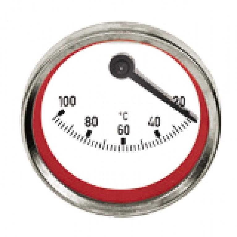 Эксцентрический термометр Meibes синий