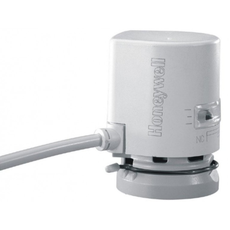 Термопривод Honeywell 24В нормально закрытый ход 6,5 мм с концевым выключателем