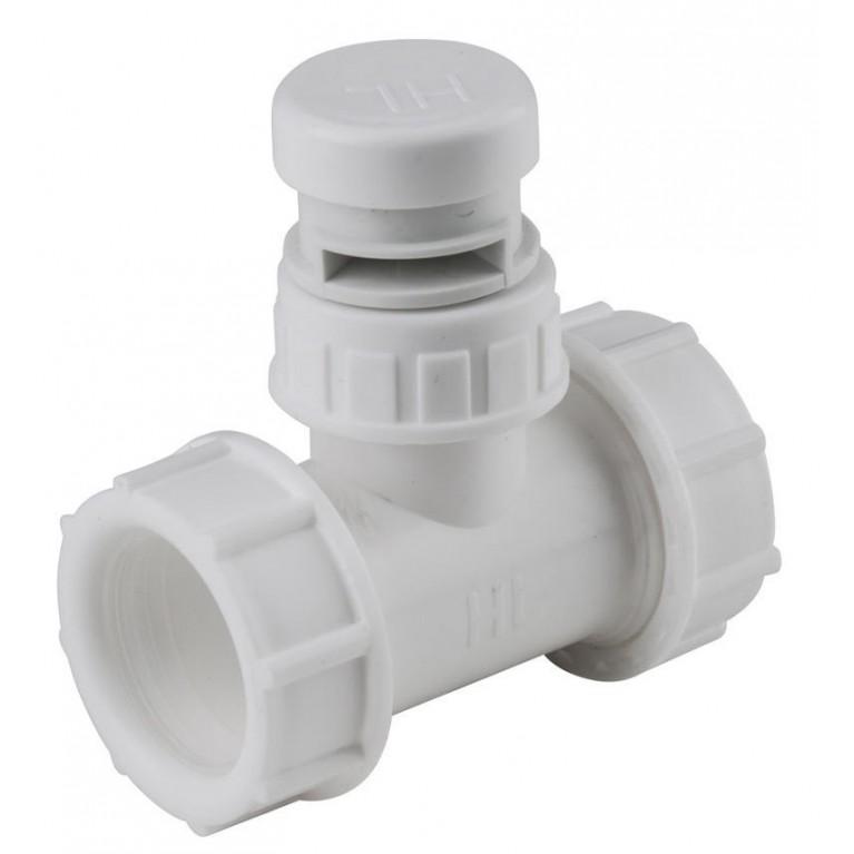 """Вентиляционный клапан HL 1"""" с Т-образным соединением DN40 х 6/4"""""""