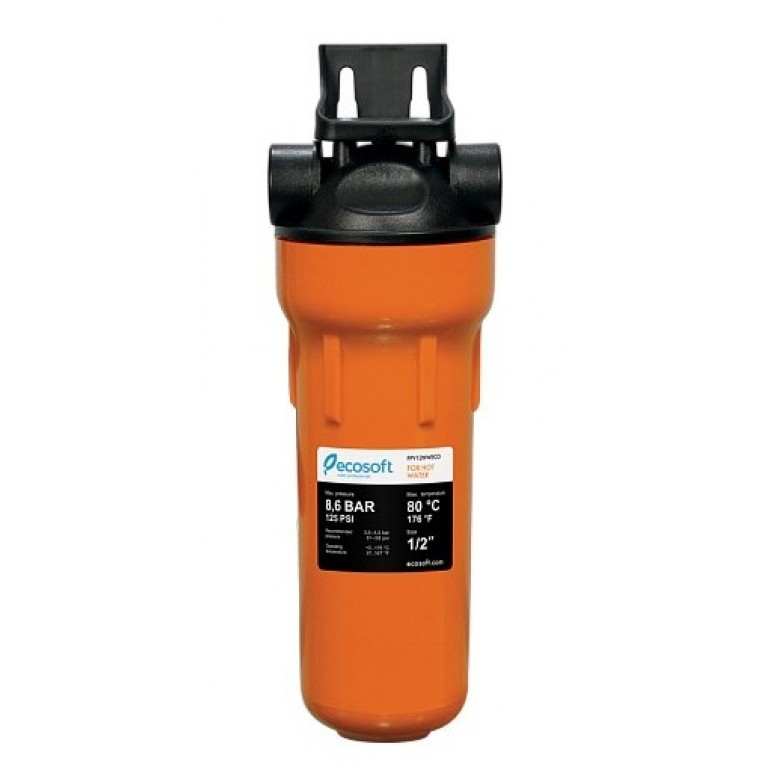 Фильтр механической очистки для горячей воды Ecosoft 1/2 (картридж в комплекте)