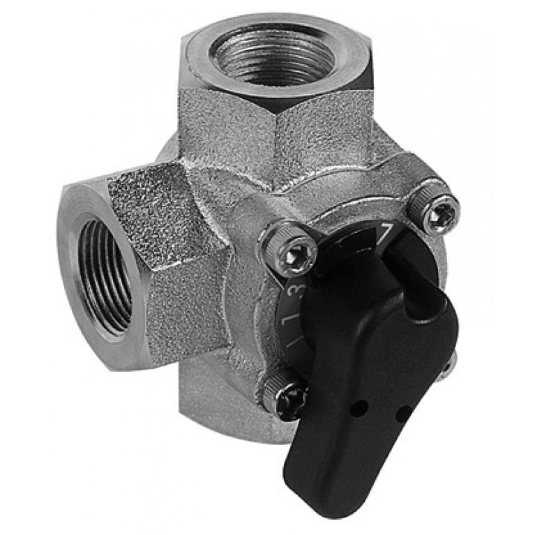 3-х ходовой вращающийся клапан DN50 Kvs  40 м3/ч V5433G1061
