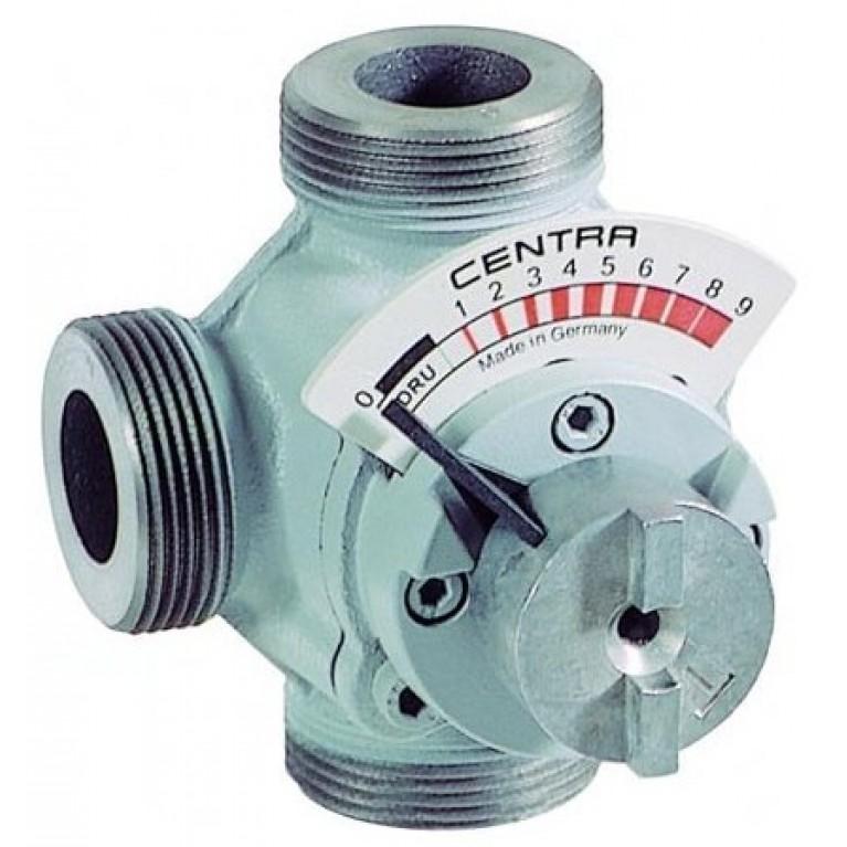 3-х ходовой поворотный клапан внешняя резьба DN32 Kvs 25 м3/ч DRU32-25