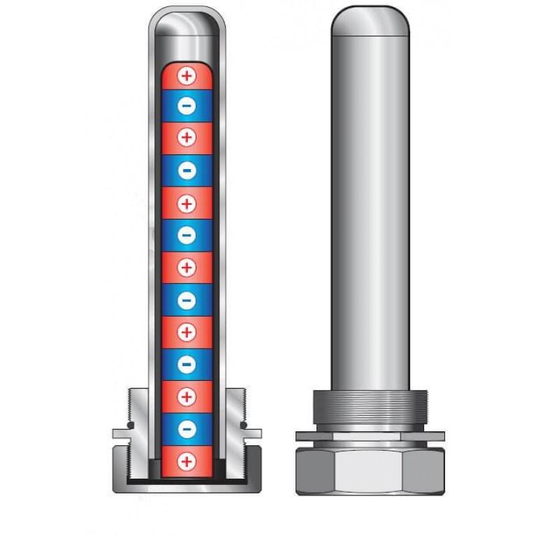 Магнитные уловители Meibes для гидравлических стрелок до 85 кВт