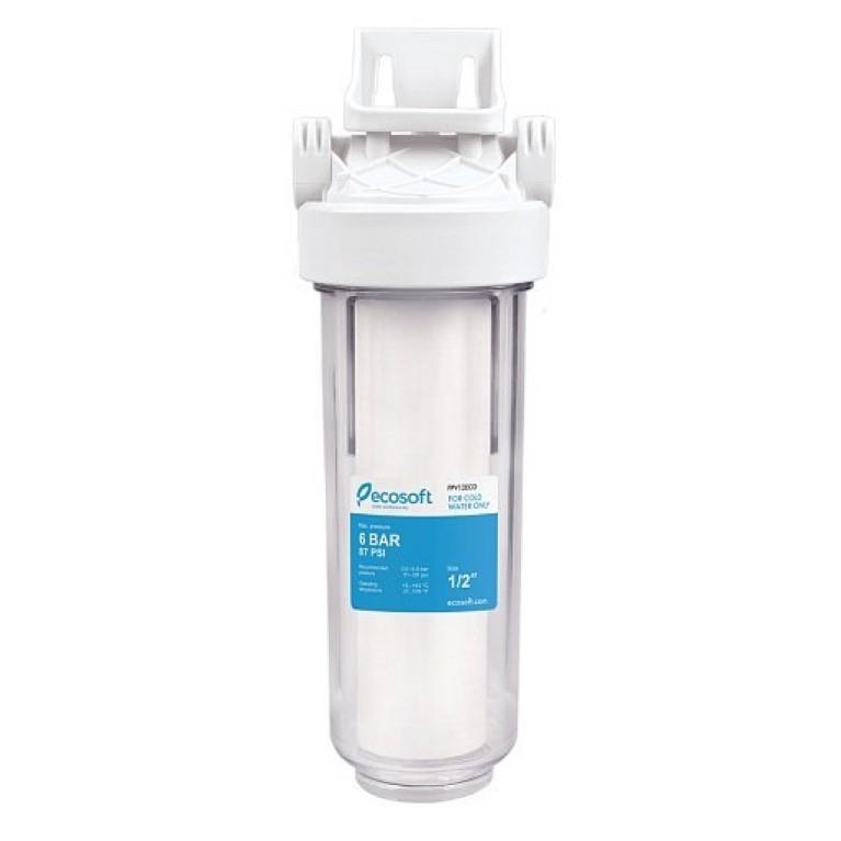 Фильтр механической очистки Ecosoft Standard 1/2 (картридж в комплекте)