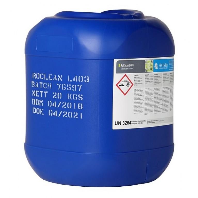 Промывочный кислотный реагент Ecosoft Avista RoClean L403 20 кг