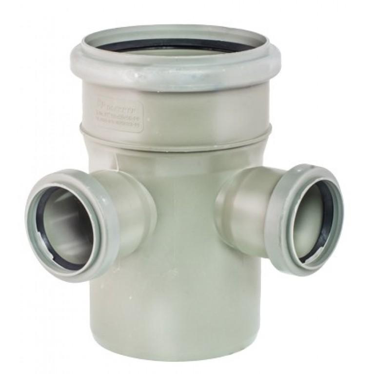 Крестовина канализационная двухплоскостная VALSIR 100/50/50 67°