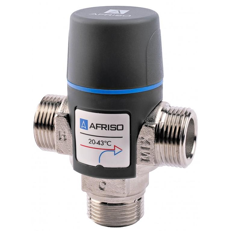 """Afriso ATM343 G 3/4"""" DN 15 35-60°С kvs 1,6 термостатический смесительный клапан"""