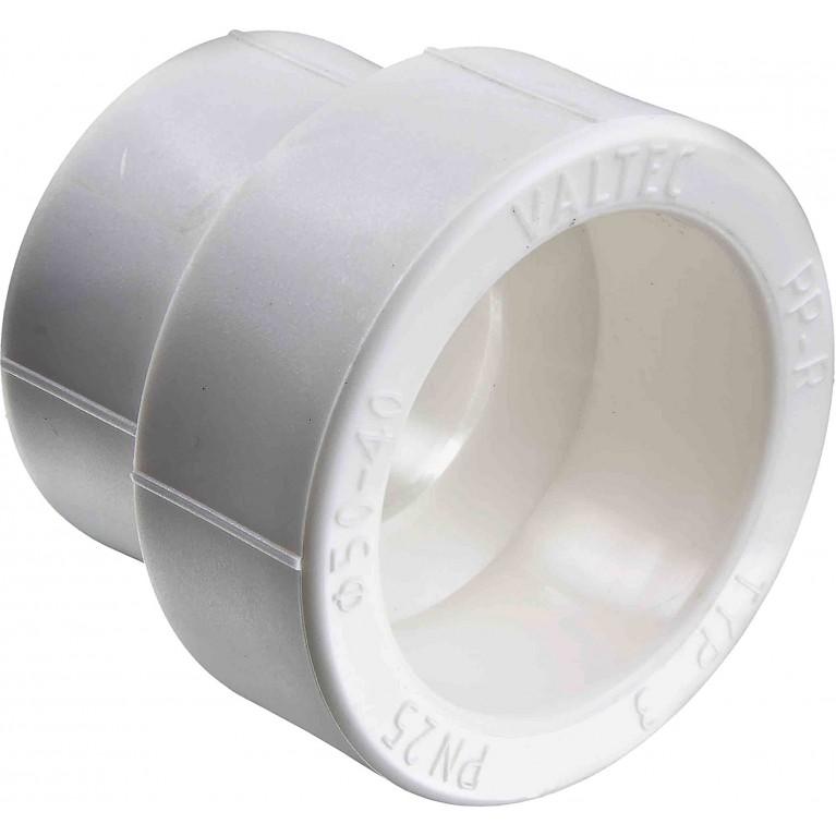 Полипропиленовая муфта Valtec переходнная PPR 63-40 мм