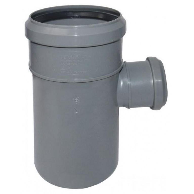Тройник редукционный для канализации Valsir 50/40 87°