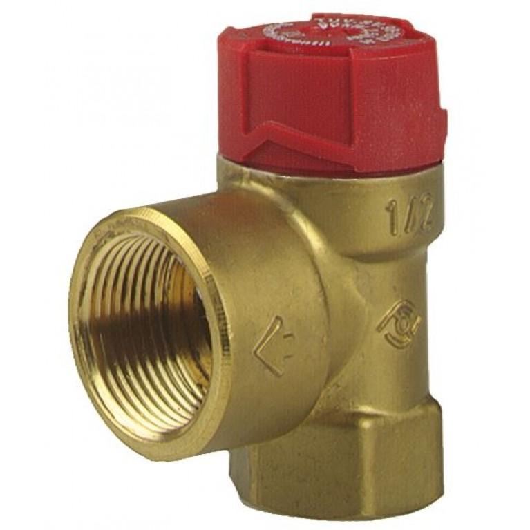 """Предохранительный клапан Afriso тип MS внутр.3/4"""" х внутр.1"""" 3,0 бар"""