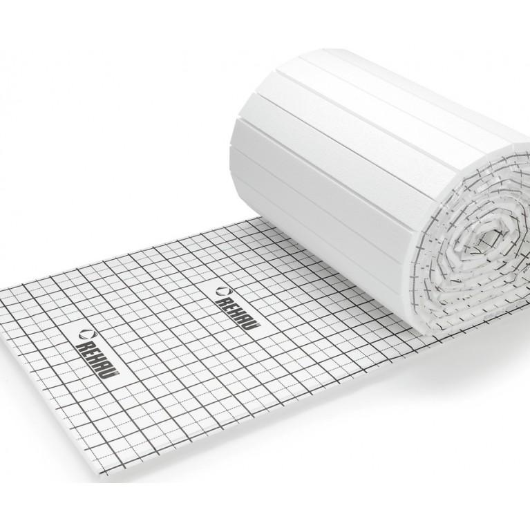 Мат изоляционный Rehau для монтажа гарпун-скобами 20 мм, рулон 12х1 м