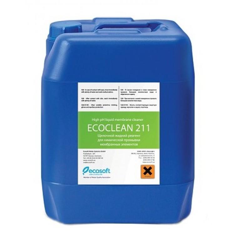 Промывочный щелочной реагент Ecosoft ECOCLEAN 211 10 кг