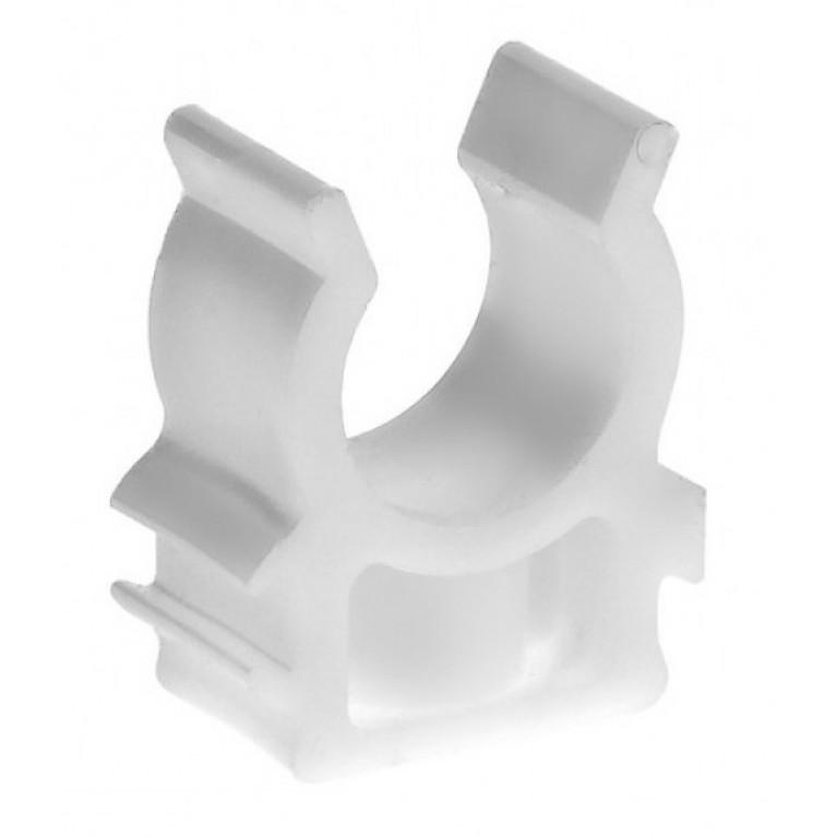Полипропиленовый кронштейн пластиковый Valtec 20 мм