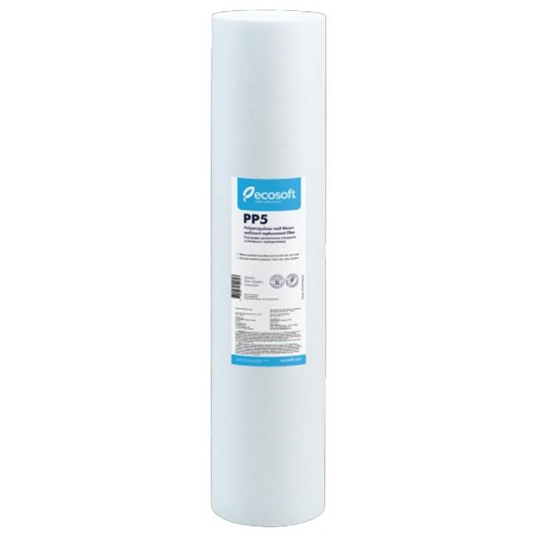 Картридж из вспененного полипропилена Ecosoft 4,5″x20″ 20 мкм