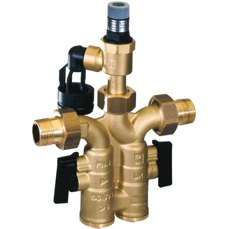 Группа безопасности водонагревателя Honeywell DN20 8 Бар SG160S-3/4AB