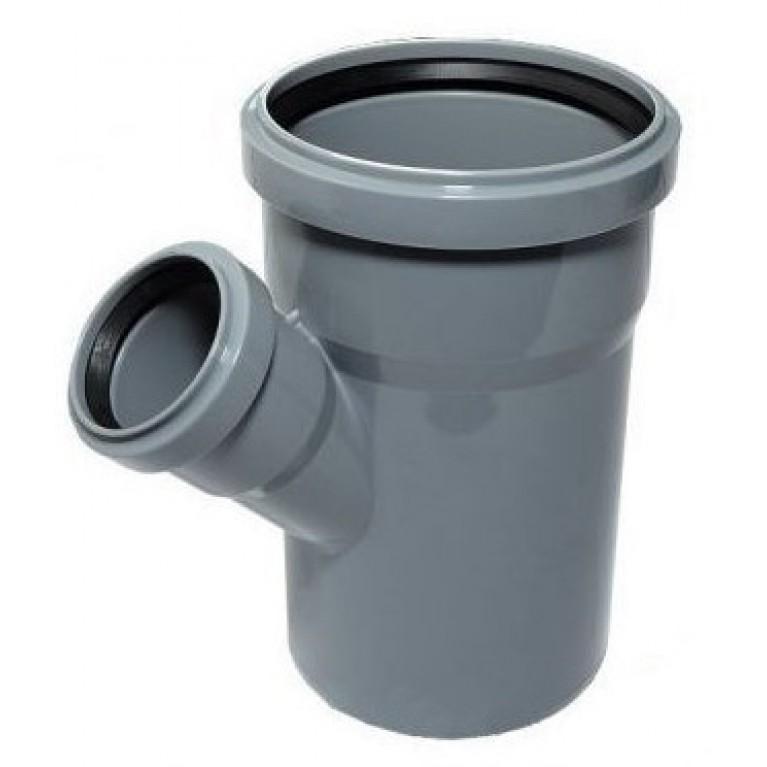 Купить Тройник редукционный для канализации Valsir 75/50 67° у официального дилера Valsir в Украине