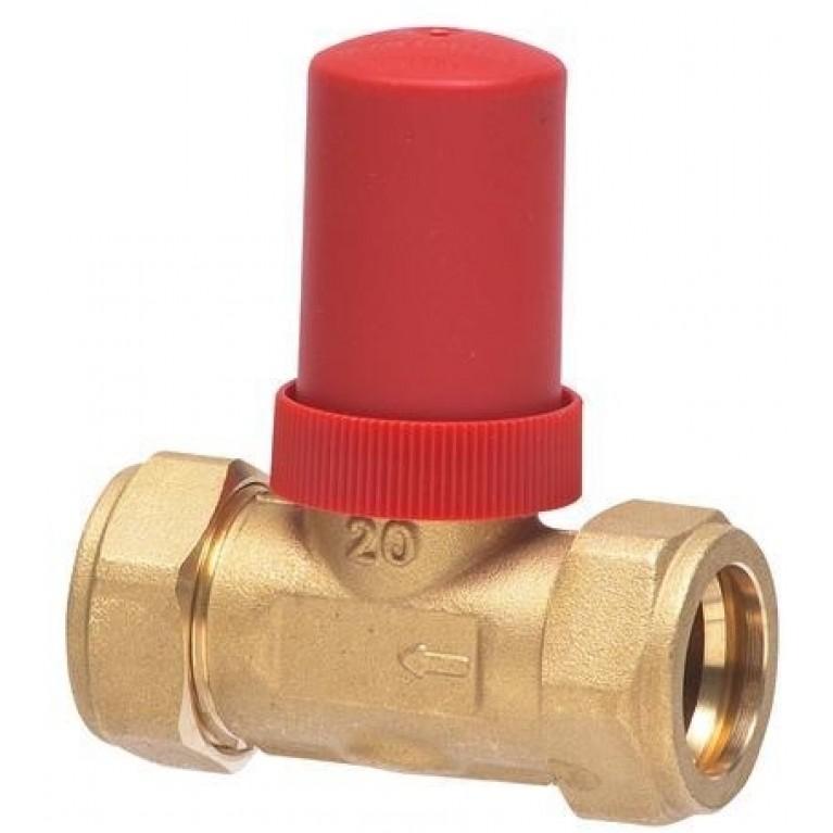 Перепускной клапан  10 бар 110 С диапазон настроек 0.1-0.6 бар DU144A1001