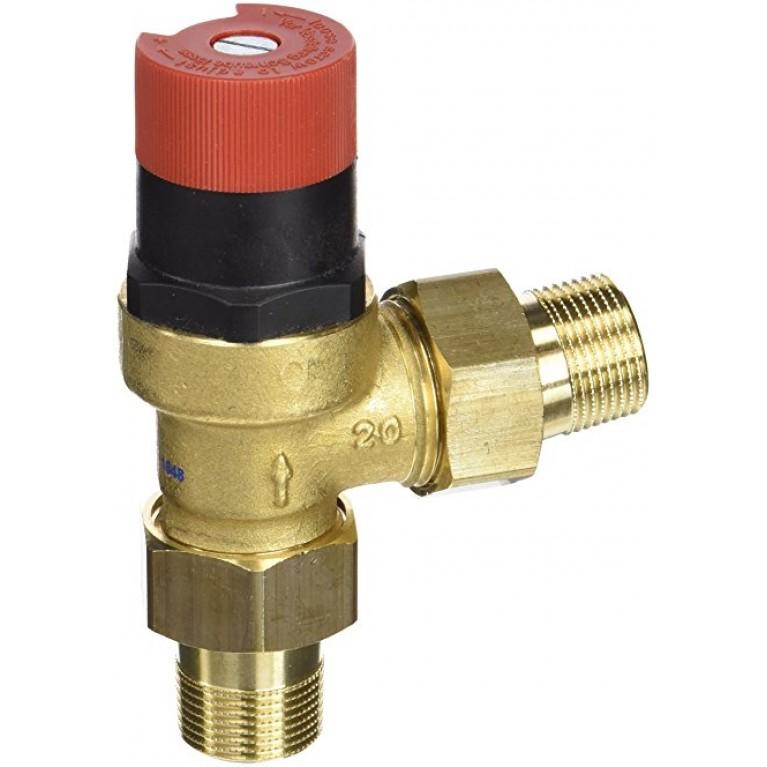 Перепускной клапан  10 бар 110 С диапазон настроек 0.1-0.6 бар DU145-3/4А