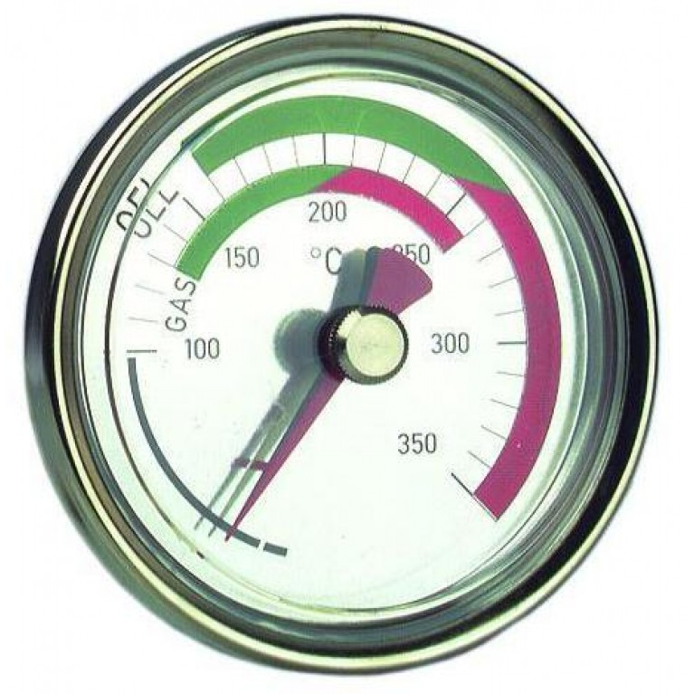 Термометры дымового газа Afriso RTC 80, стержень 150, Т 0…350°C магнитный держатель