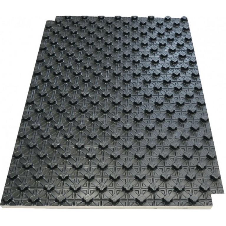 Rehau Varionova панель с фиксаторами без изоляции, 1400х800 мм (1,12 м2)