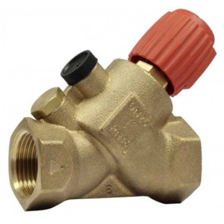 Ручной запорно-измерительный клапан Kombi-S к клапану Kombi-Auto DN20 V5001SY2020