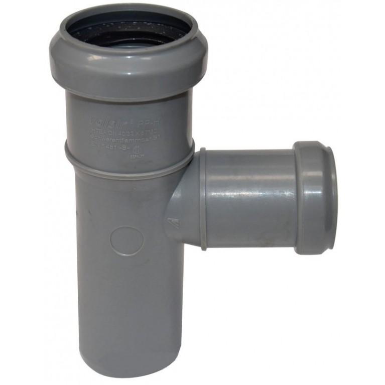 Купить Тройник канализационный Valsir 75/75 87° у официального дилера Valsir в Украине