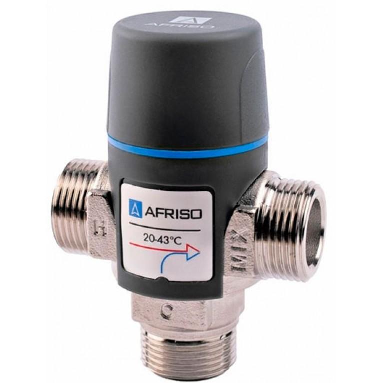 """Afriso ATM881 G 1 1/4"""" DN 25 20-43°С kvs4,2 термостатический смесительный клапан"""