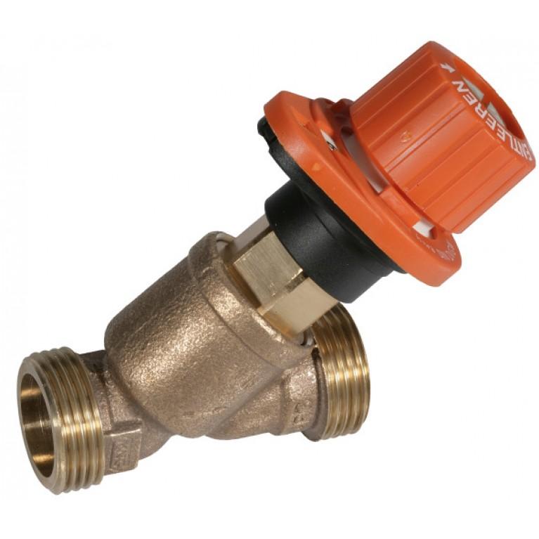 """Ручной балансировочный клапан для ГВС """"Alwa Kombi 4"""",  Ду32, PN16, -20…+130 0С, Kvs 16.0 м3/ч"""