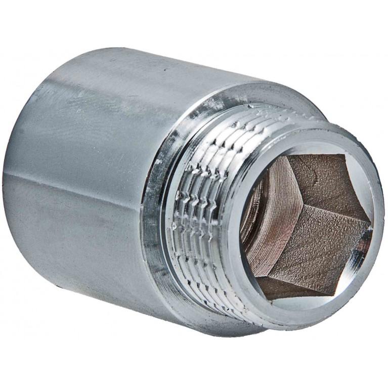 """Удлинитель Valtec 1"""" вн. х60 мм (Хром)"""