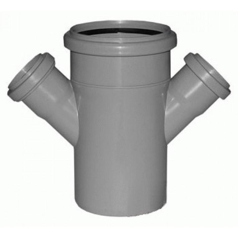Купить Крестовина канализационная Valsir 67° 100/50/50 у официального дилера Valsir в Украине