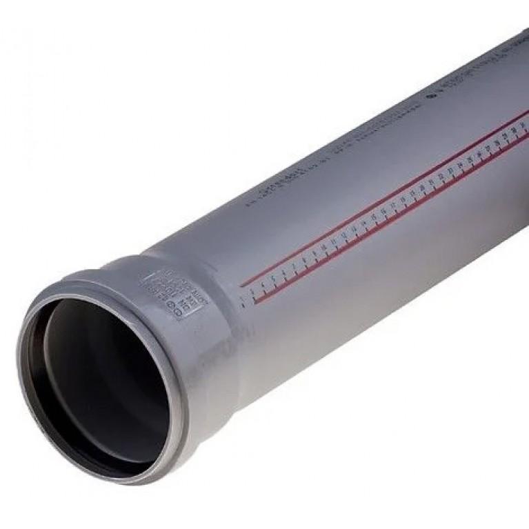 Труба для внутренней канализации Ду Ostendorf 50x2000 мм