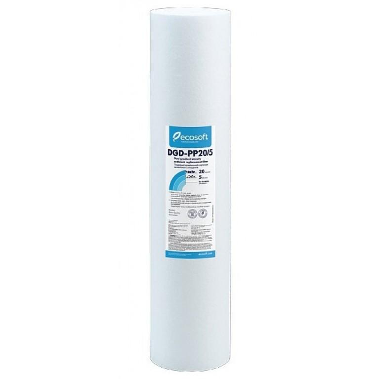 Картридж бактериостатический из вспененного полипропилена Ecosoft 2,5″х10″ 5 мкм