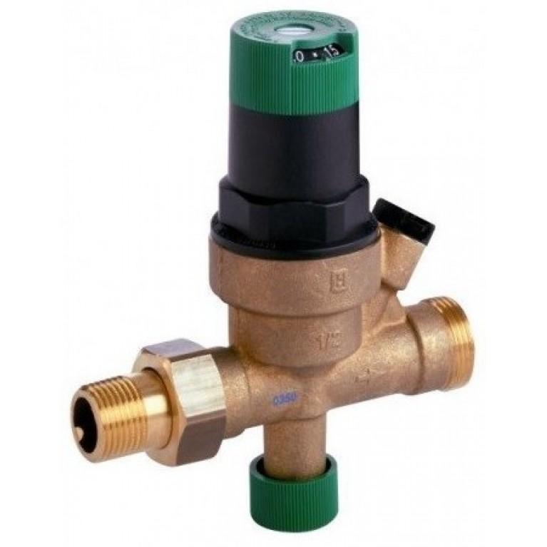 Подпиточный клапан, VF06-DN15. PN16. Tmax 70°C.. Диапазон регулирования 0.5-3.0 бар.