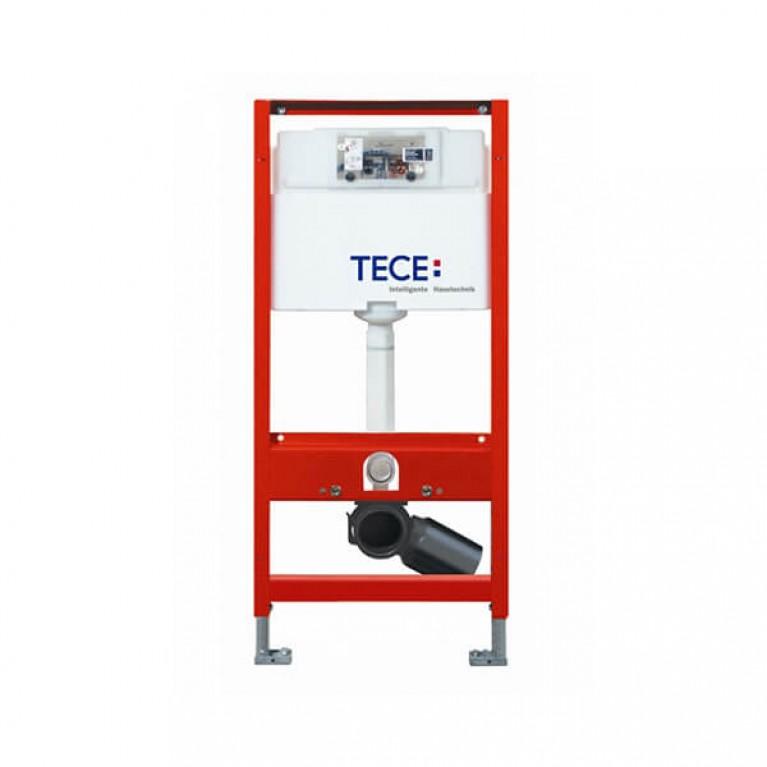 Модуль TECE для подвесного унитаза с фронтальным положением панели слива, высотой 1120 мм