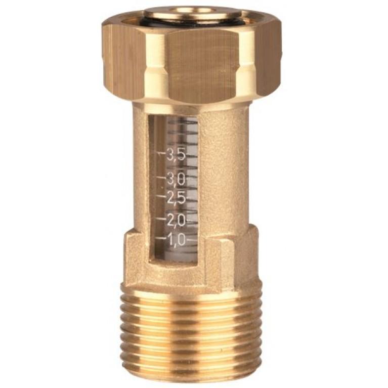 "Расходомер DFM Afriso 15-2M, G 1"" х накидная гайка 1"", 2-12 л/мин"