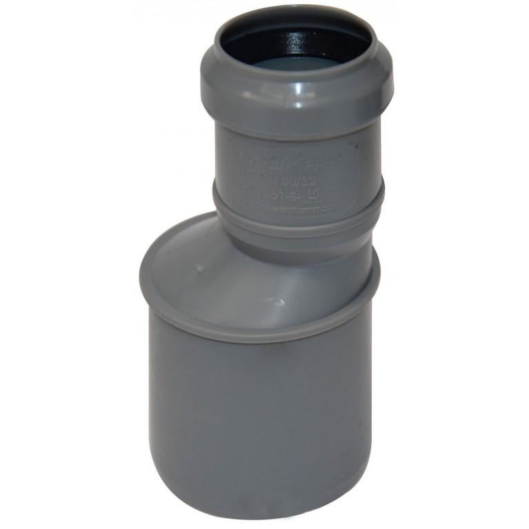 Купить Преходник канализационный Valsir 50/32 у официального дилера Valsir в Украине
