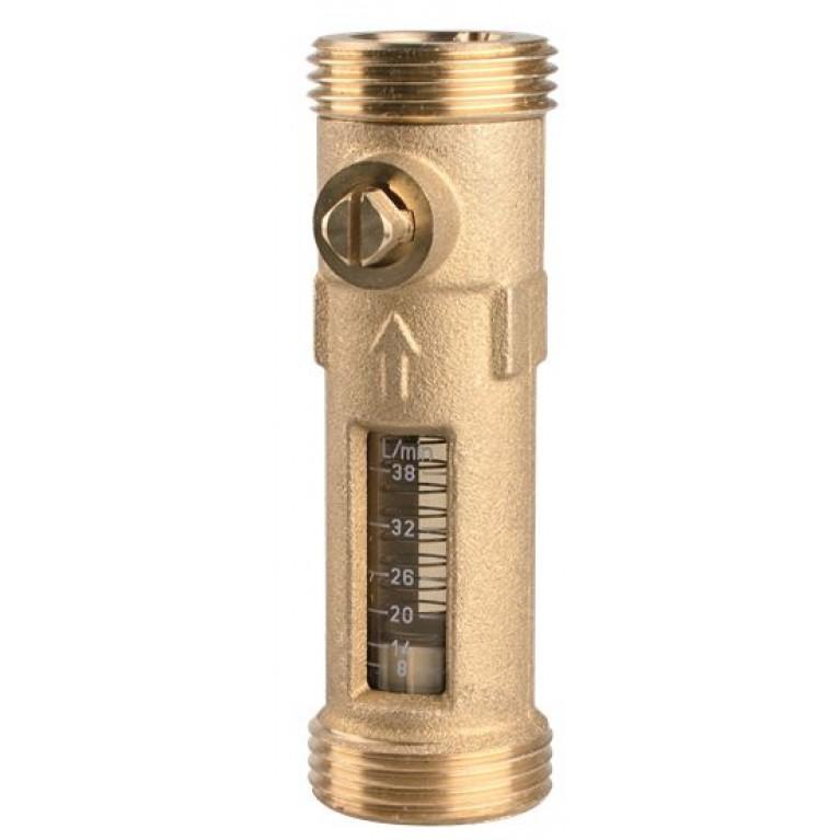 "Расходомер DFM Afriso 15-2M, G 3/4"" х G 3/4"", 8-28 л/мин"