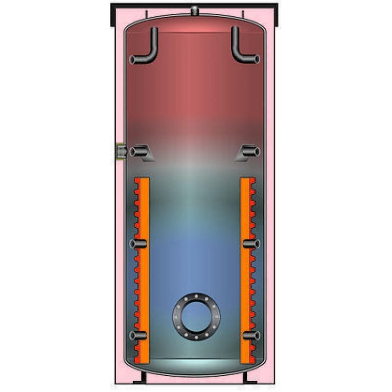 Тепловой аккумулятор Meibes SPSX (-F) 1000