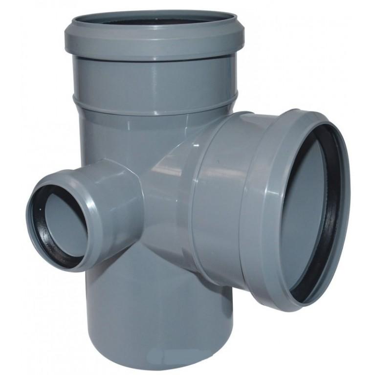 Купить Крестовина канализационная двухплоскостная Valsir 100/50/100 87° у официального дилера Valsir в Украине