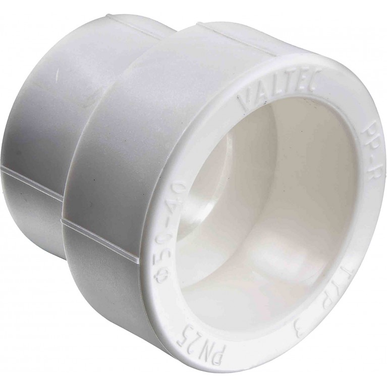 Муфта Valtec переходная полипропилен PPR 50-40 мм