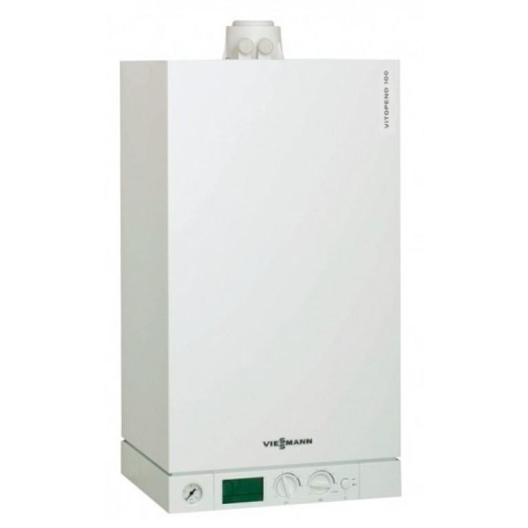Котёл Viessmann Vitodens 100-W 35 кВт двухконтурный + дымоход